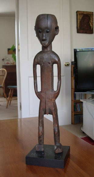 Collection of African wooden sculpture