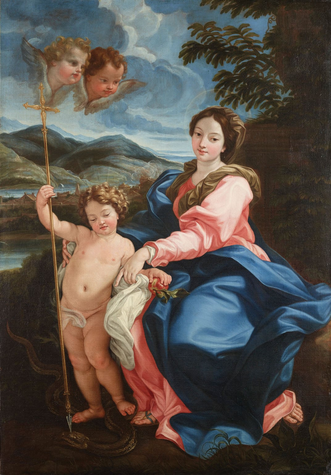 The Virgin with the Child piercing the Head of the Serpent ('Madonna della Serpe')
