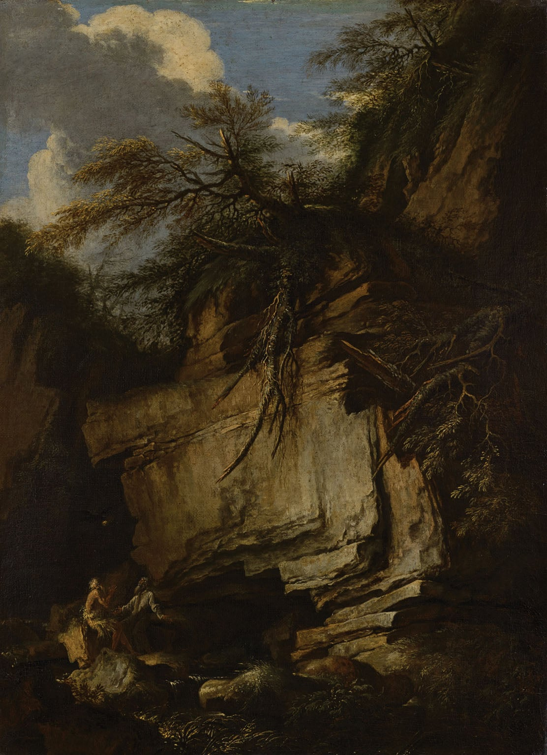 Landscape with Saint Anthony Abbot and Saint Paul the Hermit