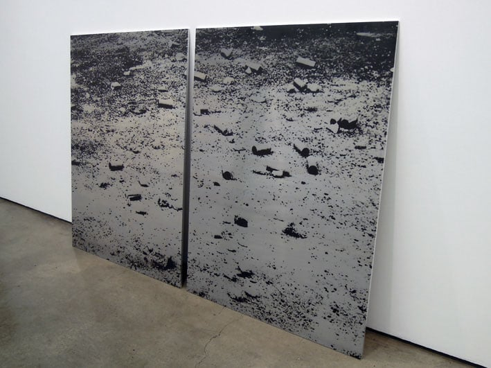 Untitled Landscape (Tear Gas Canisters)