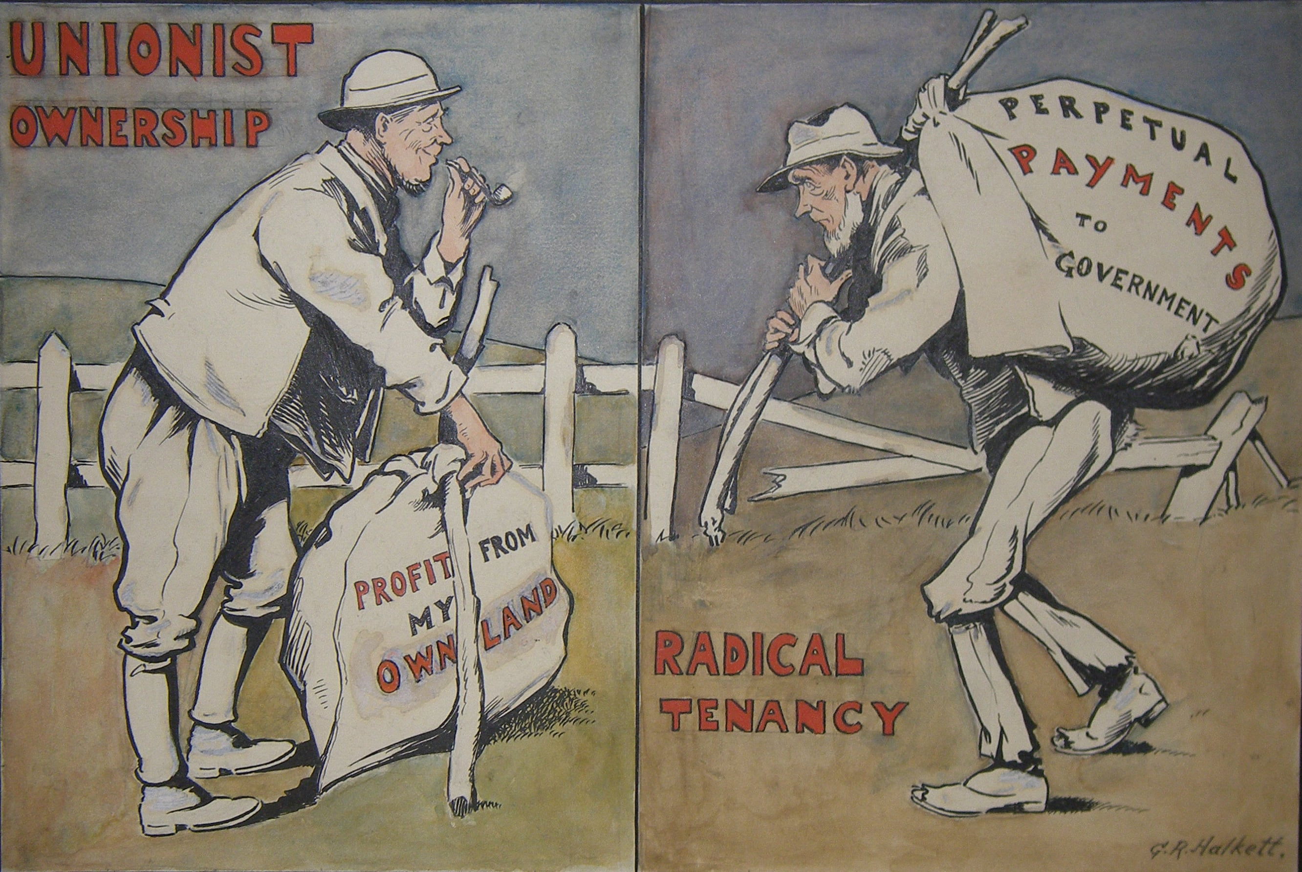Collection of 86 Political Cartoons