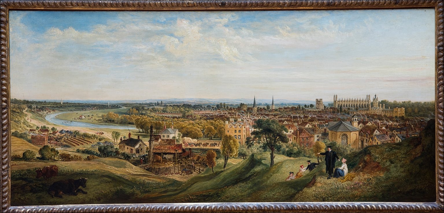 View of Cambridge from Castle Hill