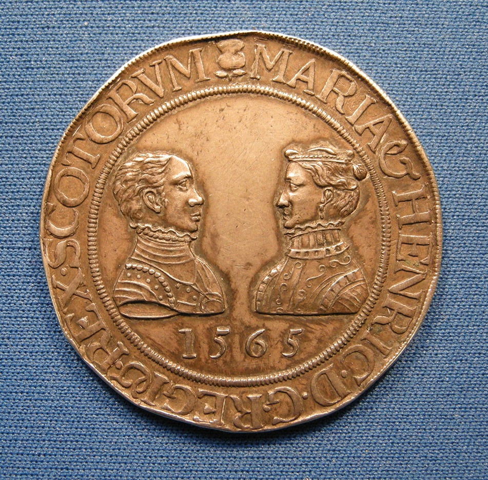 Mary Queen of Scots and Henry Lord Darnley medal
