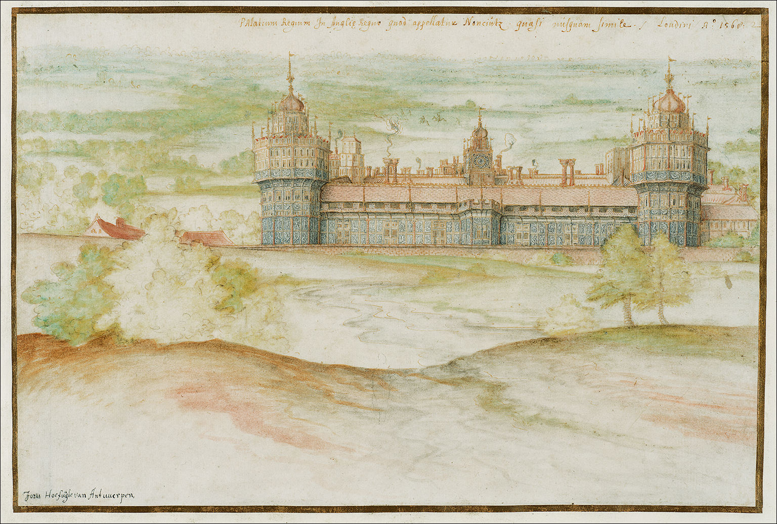 Nonsuch Palace from the South