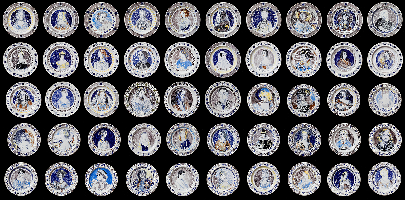 The Famous Women Dinner Service