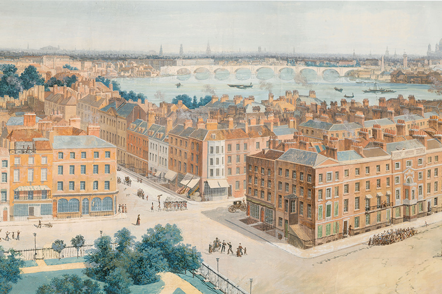 A Panoramic View of London, from the Tower of St. Margaret's Church, Westminster