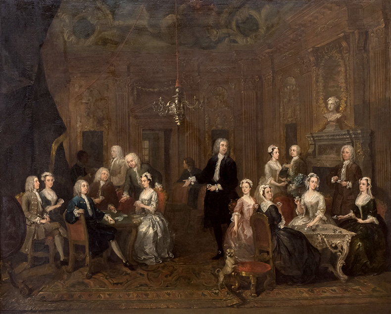 The Wollaston Family, or William Wollaston and His Family in a Grand Interior