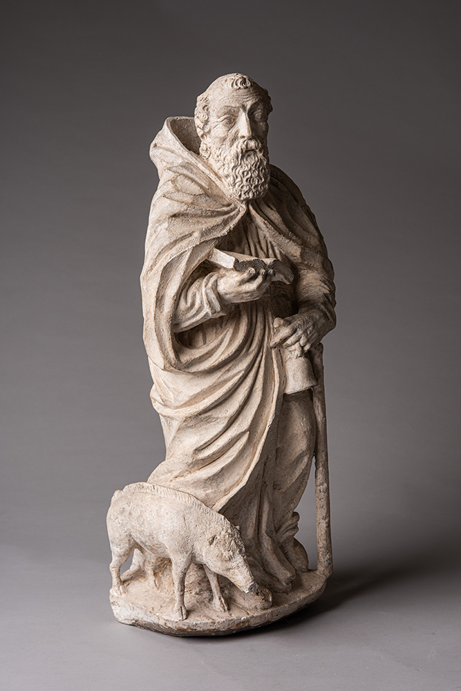 A French statue of St Anthony