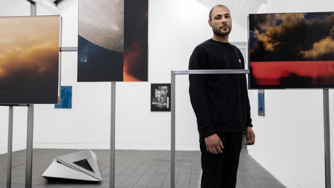 Preview event at Jerwood Space, London. Jerwood/Photoworks Awards 2020, Silvia Rosi and Theo Simpson, supported by Jerwood Arts and Photoworks.