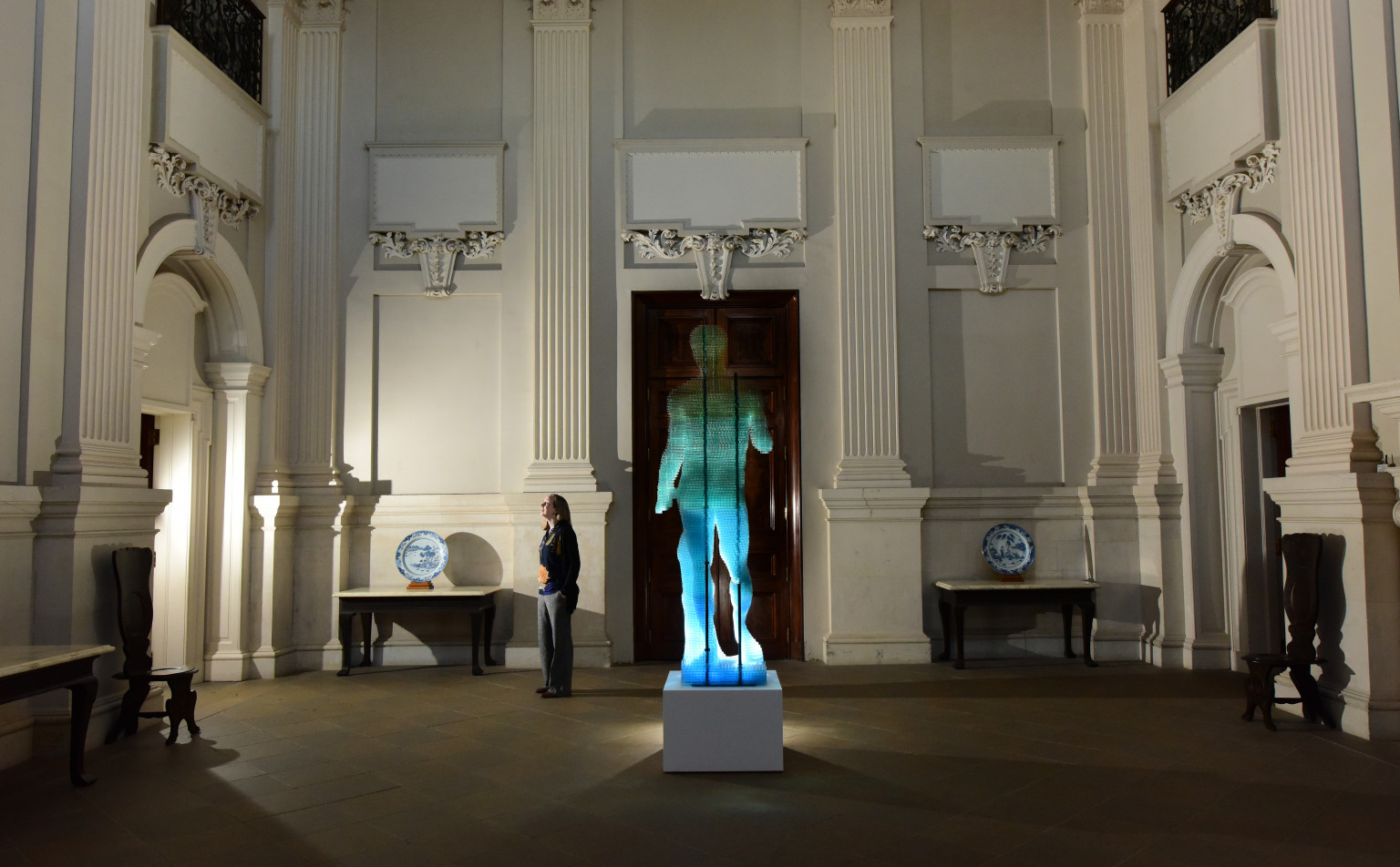 Doryphoros stands tall in the Great Hall