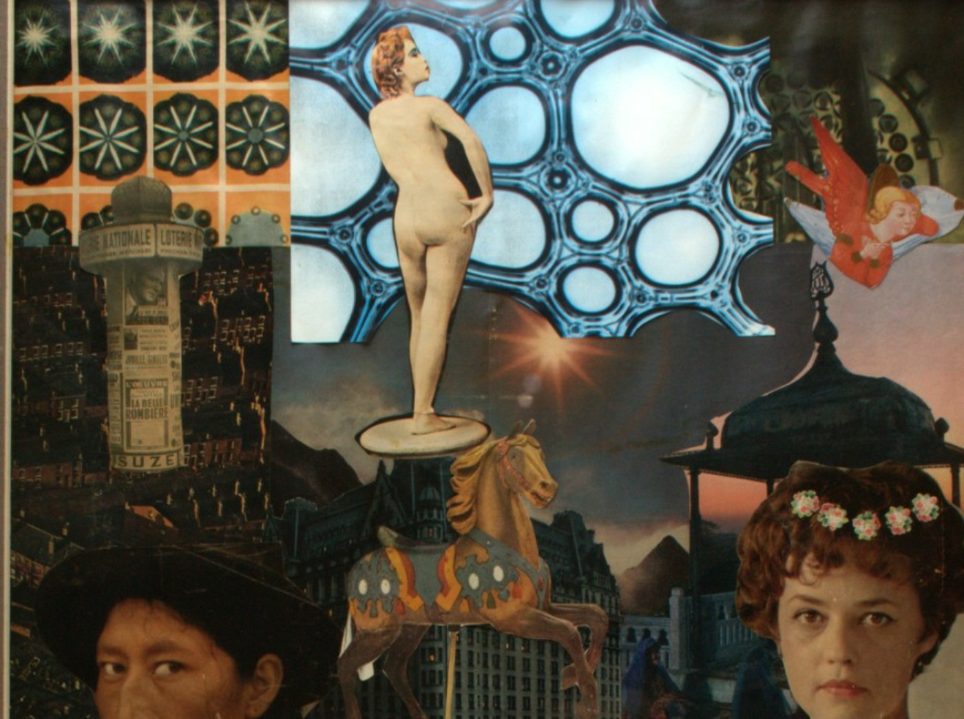 Surrealist Collage, by Olive Cook