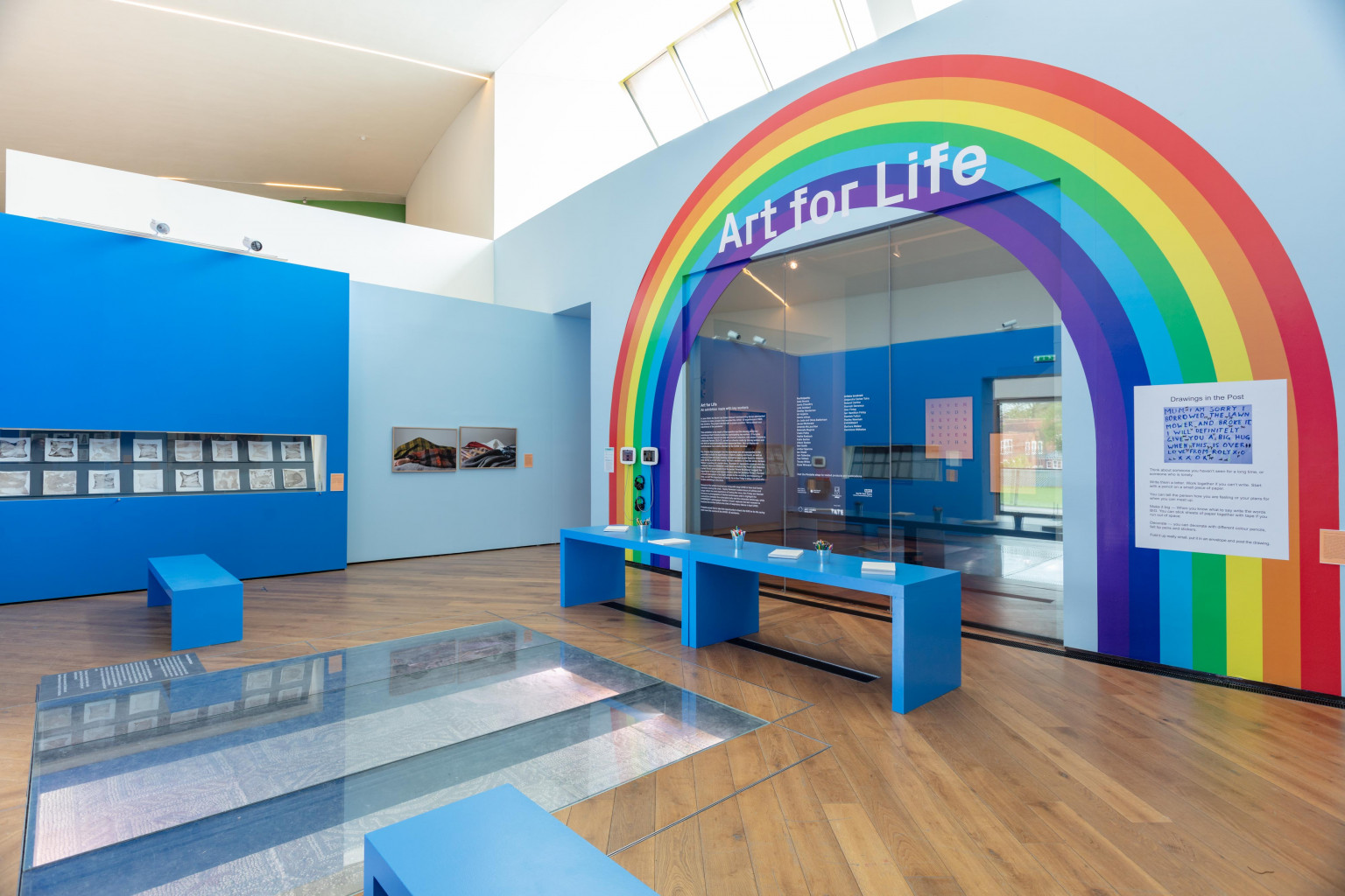 Installation view, Art for Life, Firstsite, 2021  Photograph by Anna Lukala 03