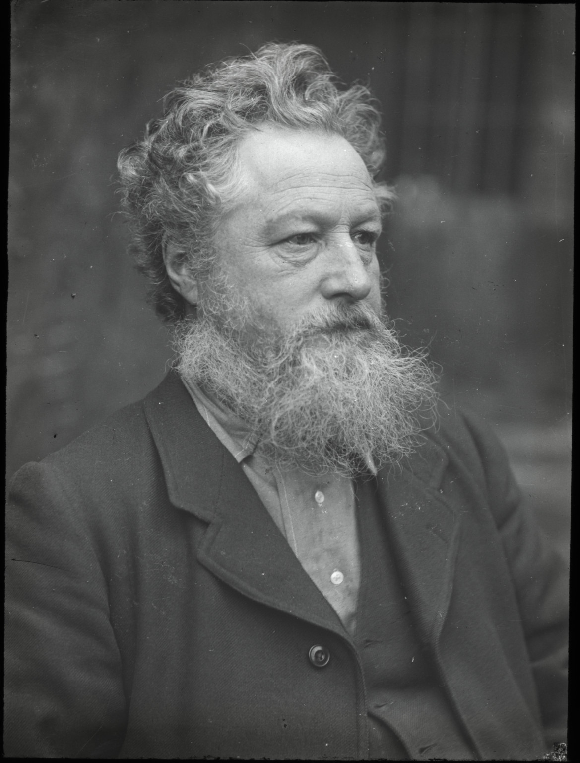 Photograph of William Morris by Emery Walker, 1889