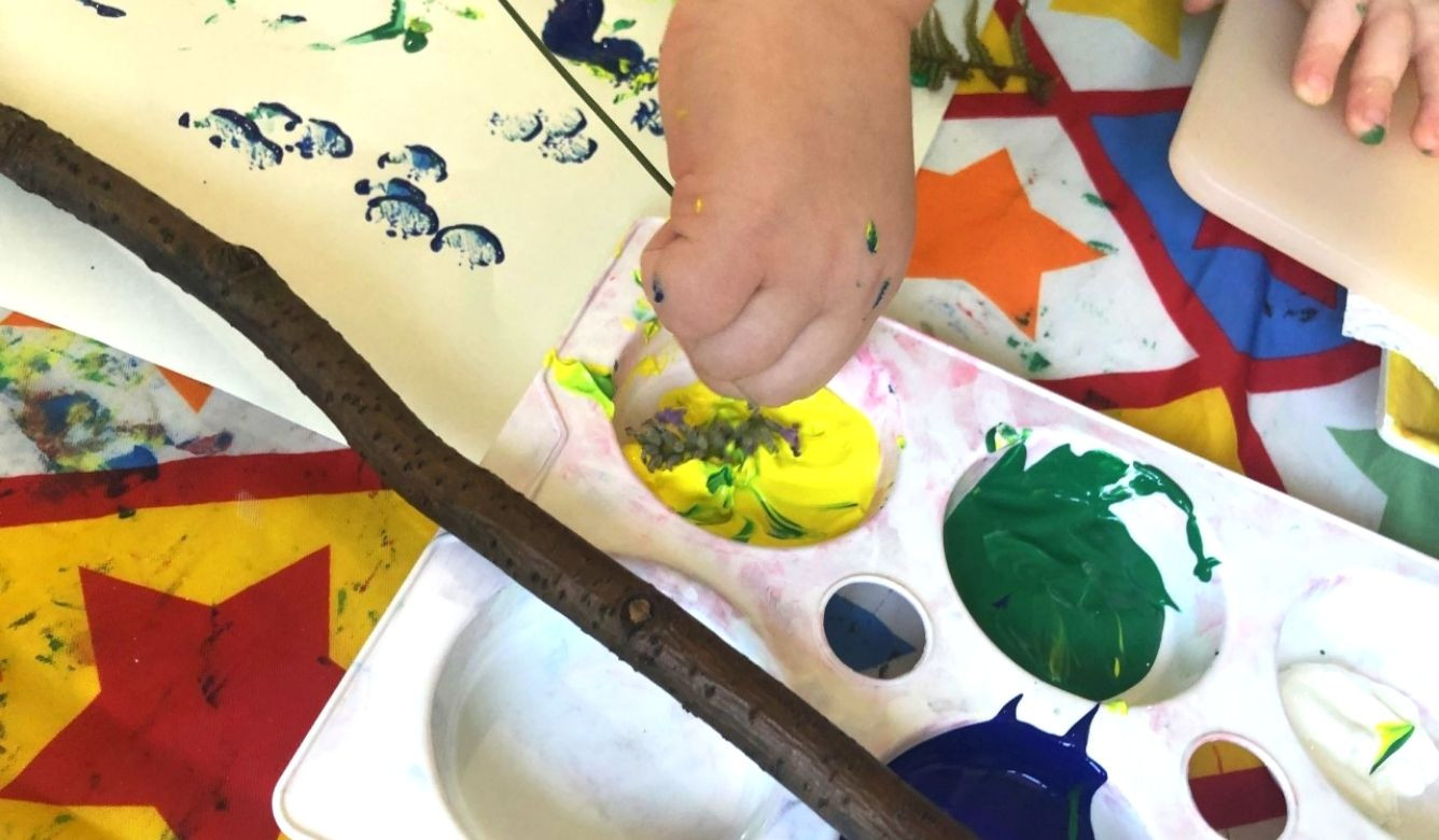Mark Making and Messy Play