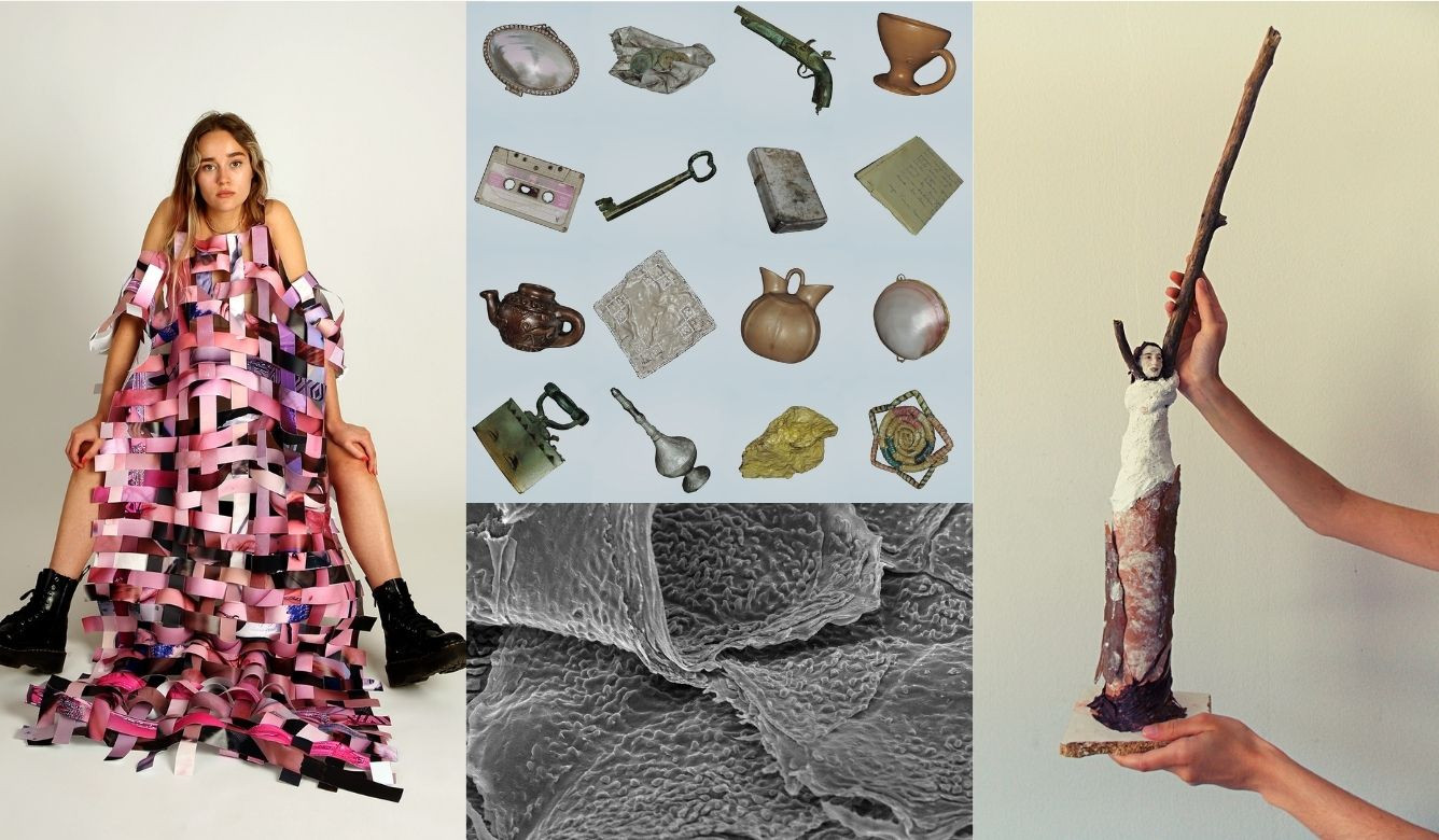 Artwork by the finalists of the FUAM Graduate Art Prize 2021
