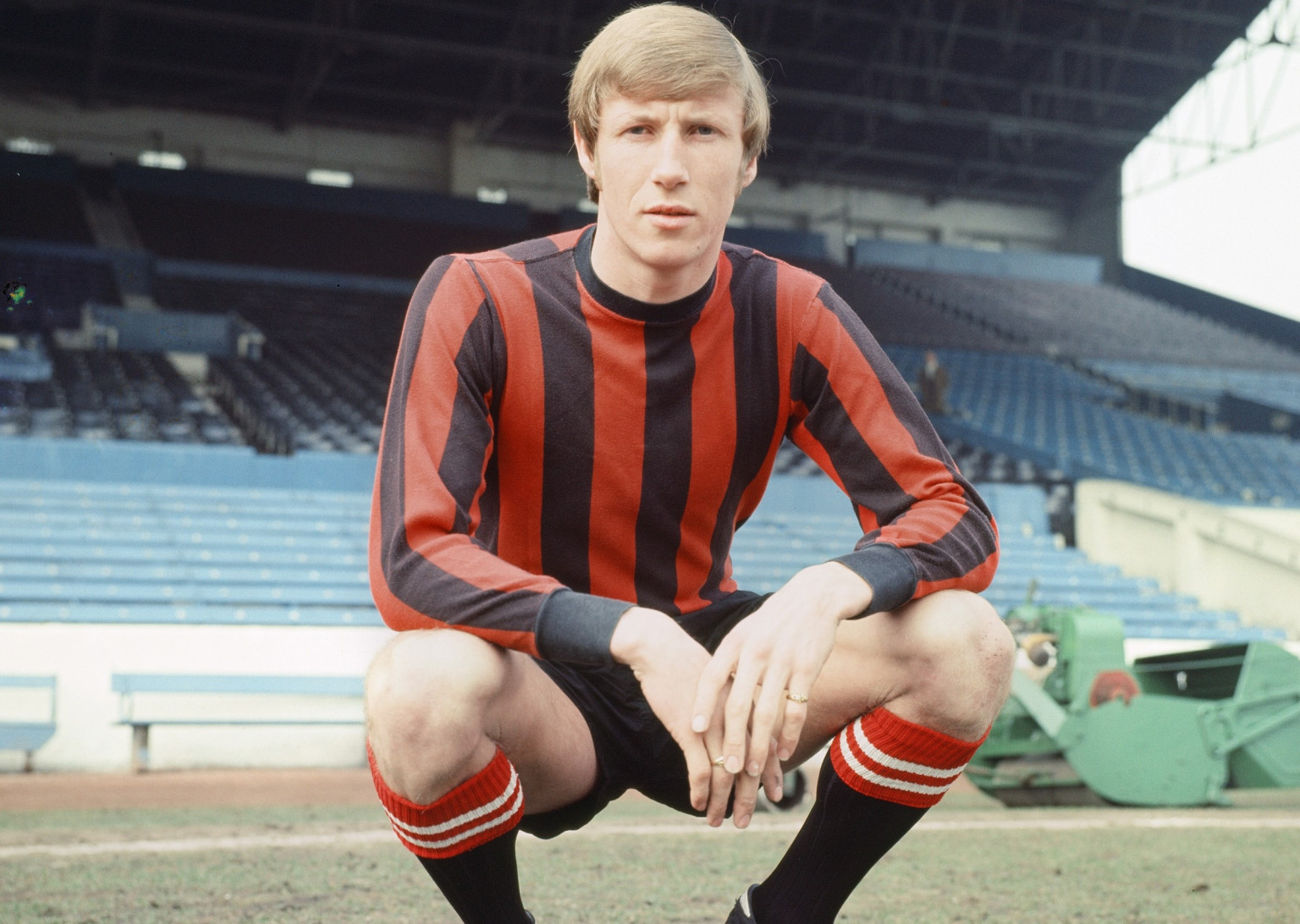 Colin Bell is one of 50 stars in the English Hall of Fame exhibition.