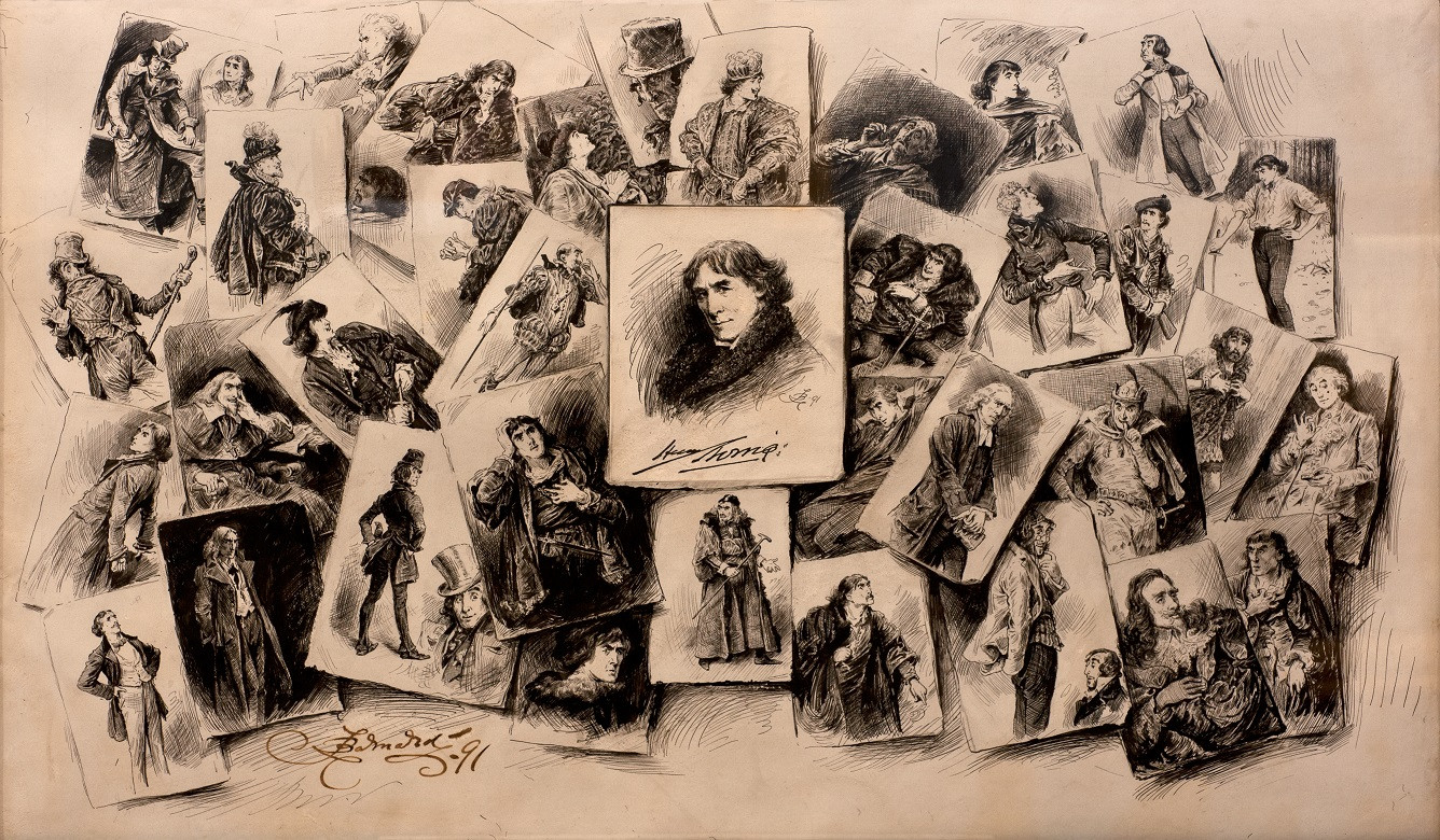 The many faces of Sir Henry Irving