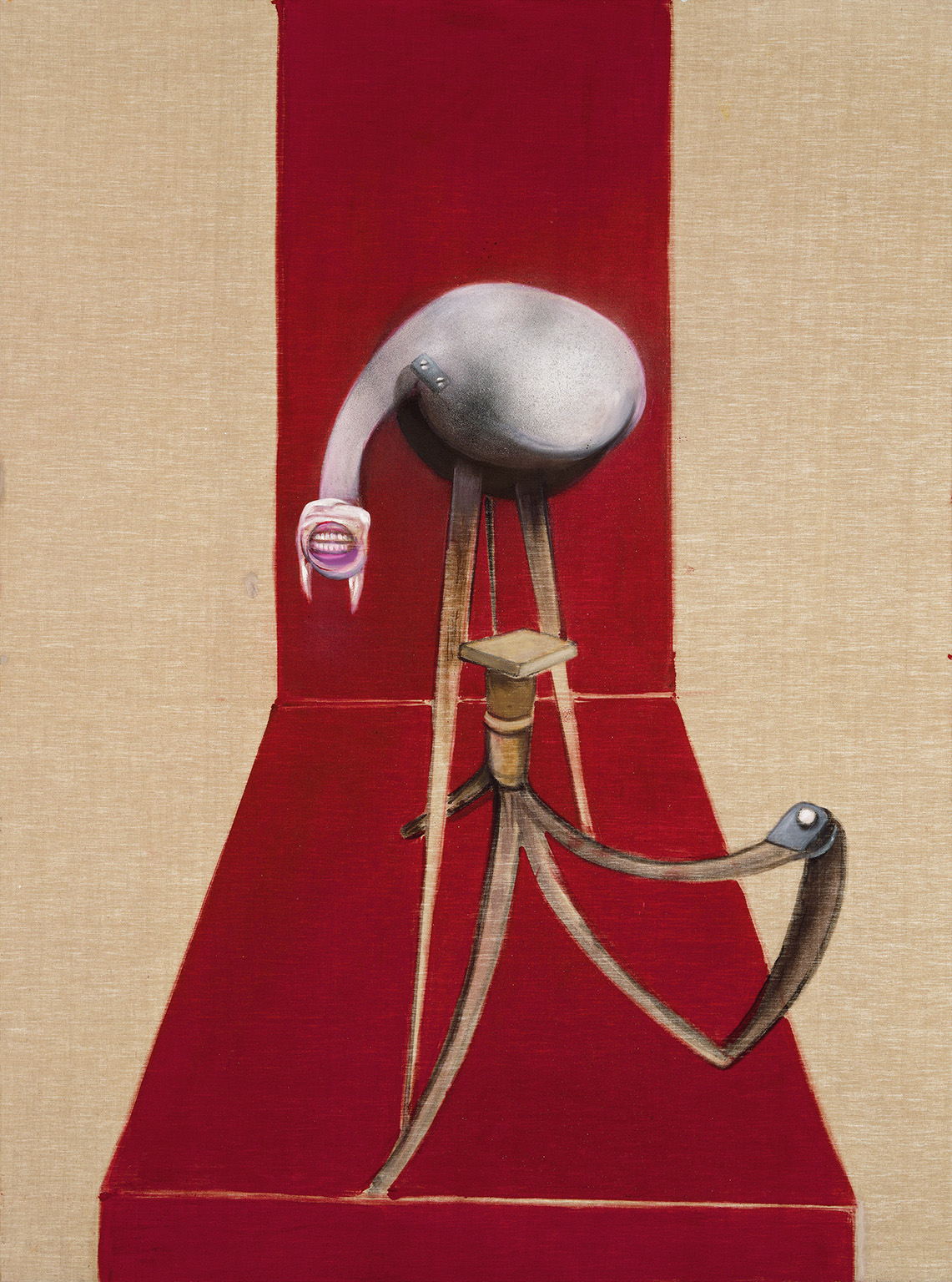 Francis Bacon, Second Version of Triptych 1944, 1988. Oil paint and acrylic paint on 3 canvases, 198 x 147.5 cm (each). Tate: Presented by the artist 1991 © The Estate of Francis Bacon. All rights reserved, DACS/Artimage 2020. Photo: Prudence Cuming Associates Ltd