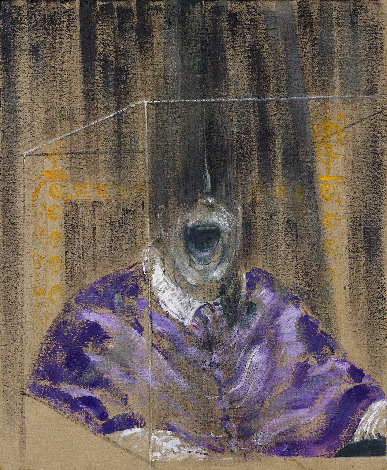 Francis Bacon, Head VI, 1949. Oil on canvas, 91.4 x 76.2 cm. Arts Council Collection, London © The Estate of Francis Bacon. All rights reserved, DACS/Artimage 2020. Photo: Prudence Cuming Associates Ltd