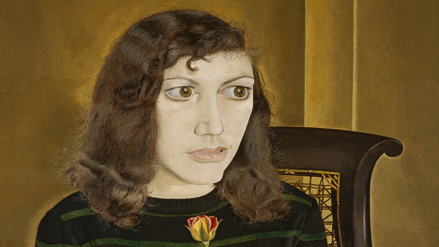 Lucian Freud (1922-2011) Girl with Roses, 1947-48, Oil on canvas