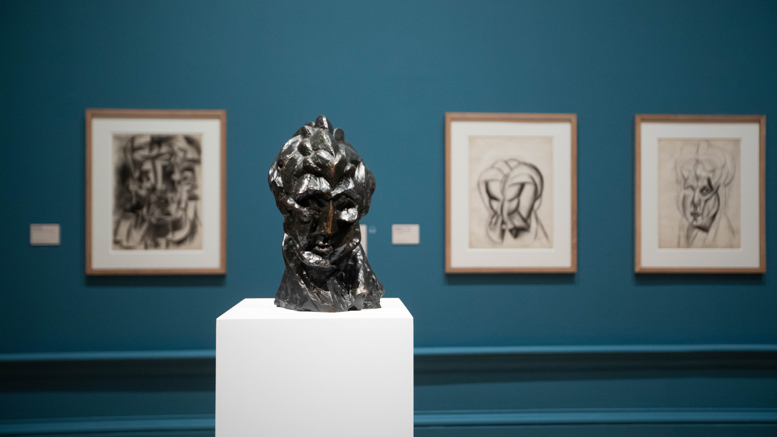 Installation view of the 'Picasso and Paper' exhibition at the Royal Academy of Arts, London (25 January - 13 April 2020)