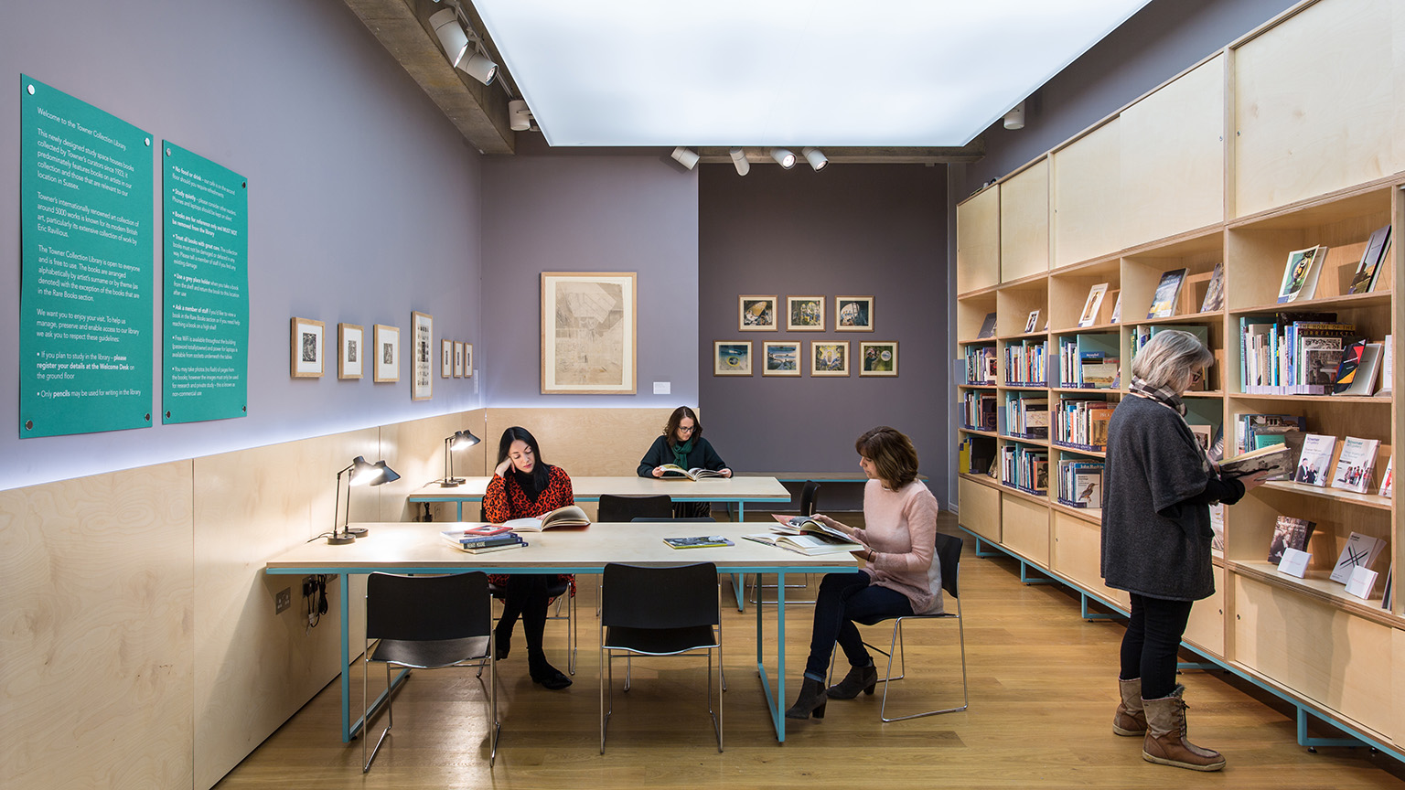 Towner Eastbourne Collection Library